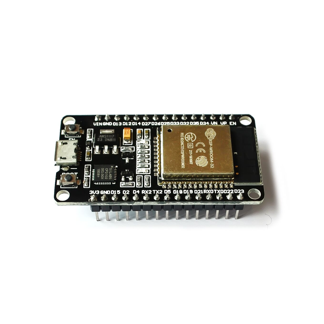 10PCS Official DOIT ESP32 Development Board WiFi+Bluetooth Ultra-Low Power Consumption Dual Core ESP-32S ESP 32 Similar ESP8266