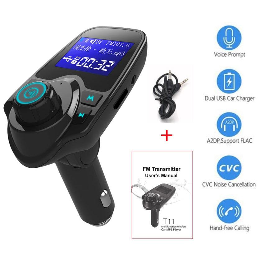 <font><b>Bluetooth</b></font> поверните кнопку fm-передатчик Aux MP3 плеер Поддержка автомобиля руки свободными для автомобиля Зарядное устройство Carkit <font><b>Bluetooth</b></font> в авто 3,5 м&#8230;