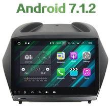 "2 din Android 7.1.2 Quad core 9"" 2GB RAM 16GB ROM GPS Navigation Car radio multimedia player For Hyundai IX35 2011-2015"