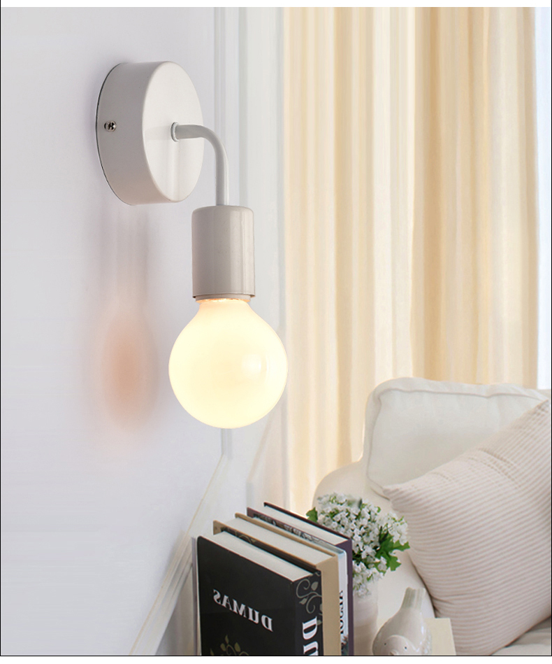 Industrial Wall Light Bedroom: Wall Lamps Wall Sconce Wall Lights Industrial Vintage Iron