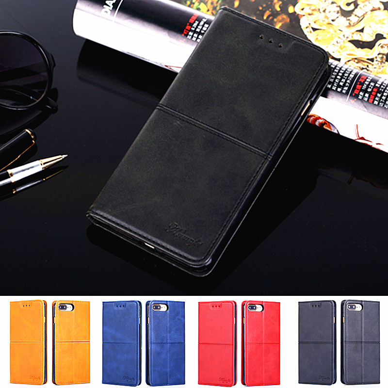 For Motorola Moto G7 Plus Cover Moto G7 Card Holder Cases Luxury Wallet PU Leather Flip Case For Moto One Power P30 Play Note