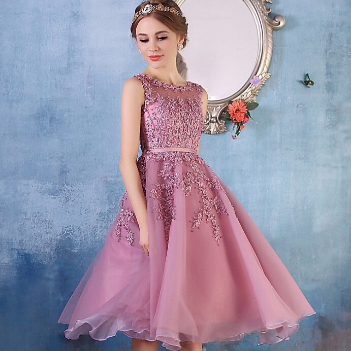 Short Lace Prom Dresses Cheap_Prom Dresses_dressesss