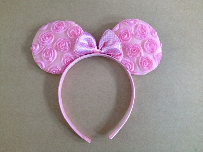 2018 New kids Carnival supplies Minnie Mouse Ears Headband Polka Dot Bow Birthday gift Party Decorations Kids Party Favors