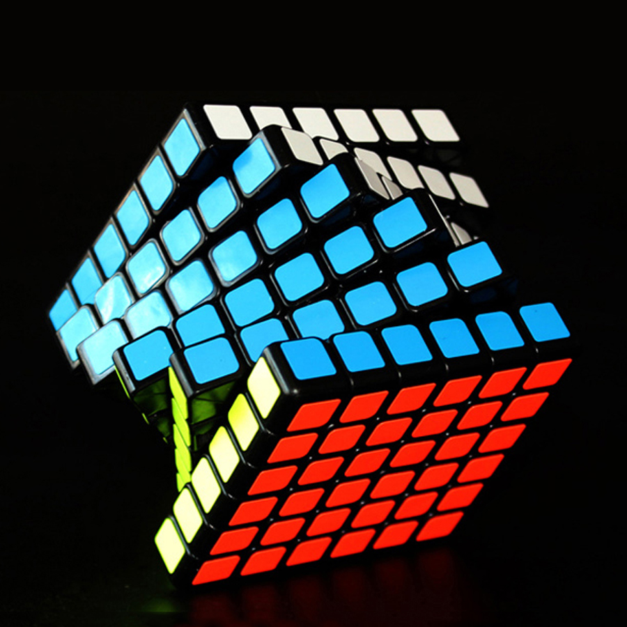 Plastic Brain Teaser Puzzle Magic Cube Games Toy Spinner Hand Mini Rompecabezas Speed Square Labirinto Educational Toys 60D0406 high quality speedy 4x4x4 brain teaser rotating magic puzzle cube with display base