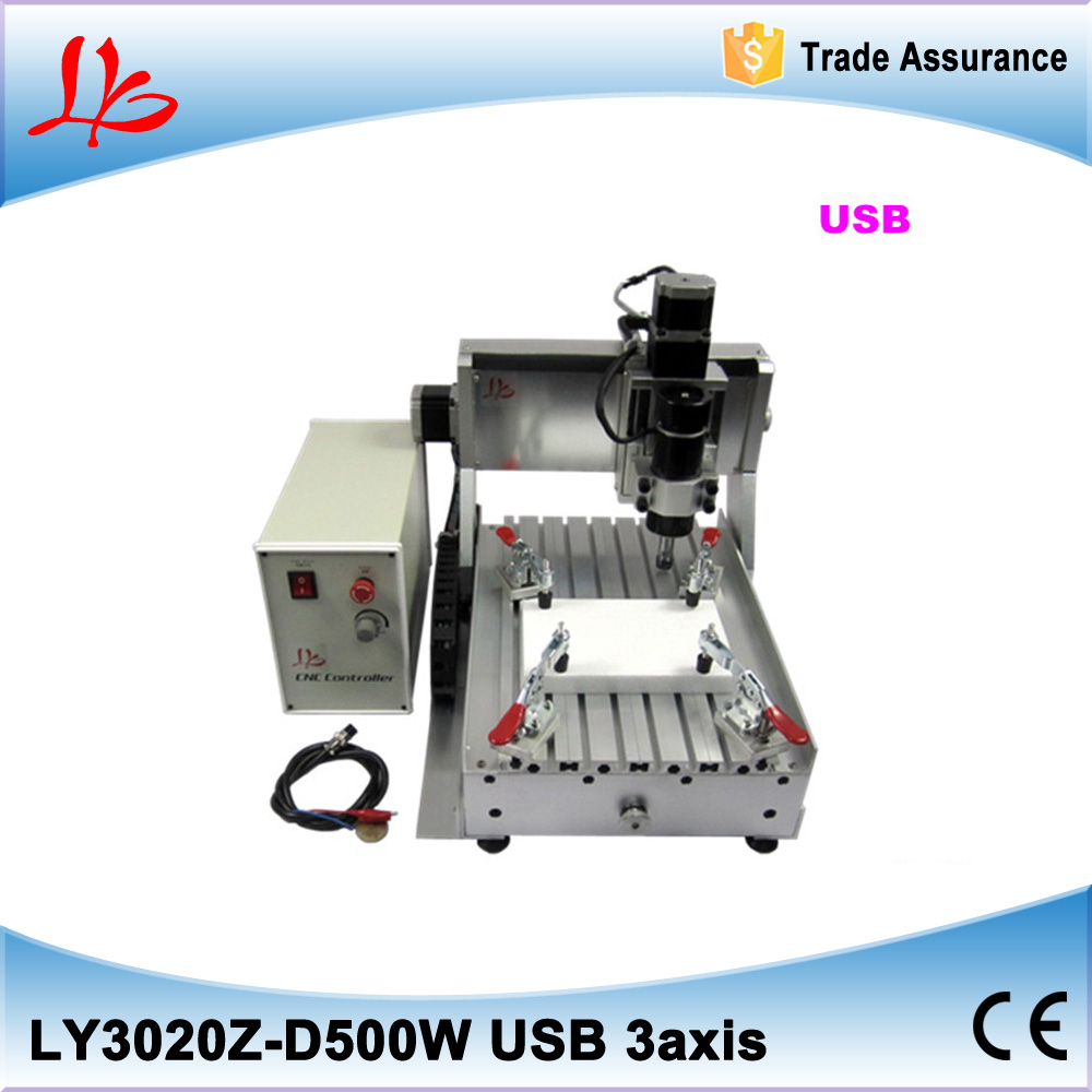 Wood Carving Router Desktop 3020 CNC Milling Engraver Machine Available with USB and 500W spindle 6090 cnc carving machine cheap cnc router desktop cnc milling machine