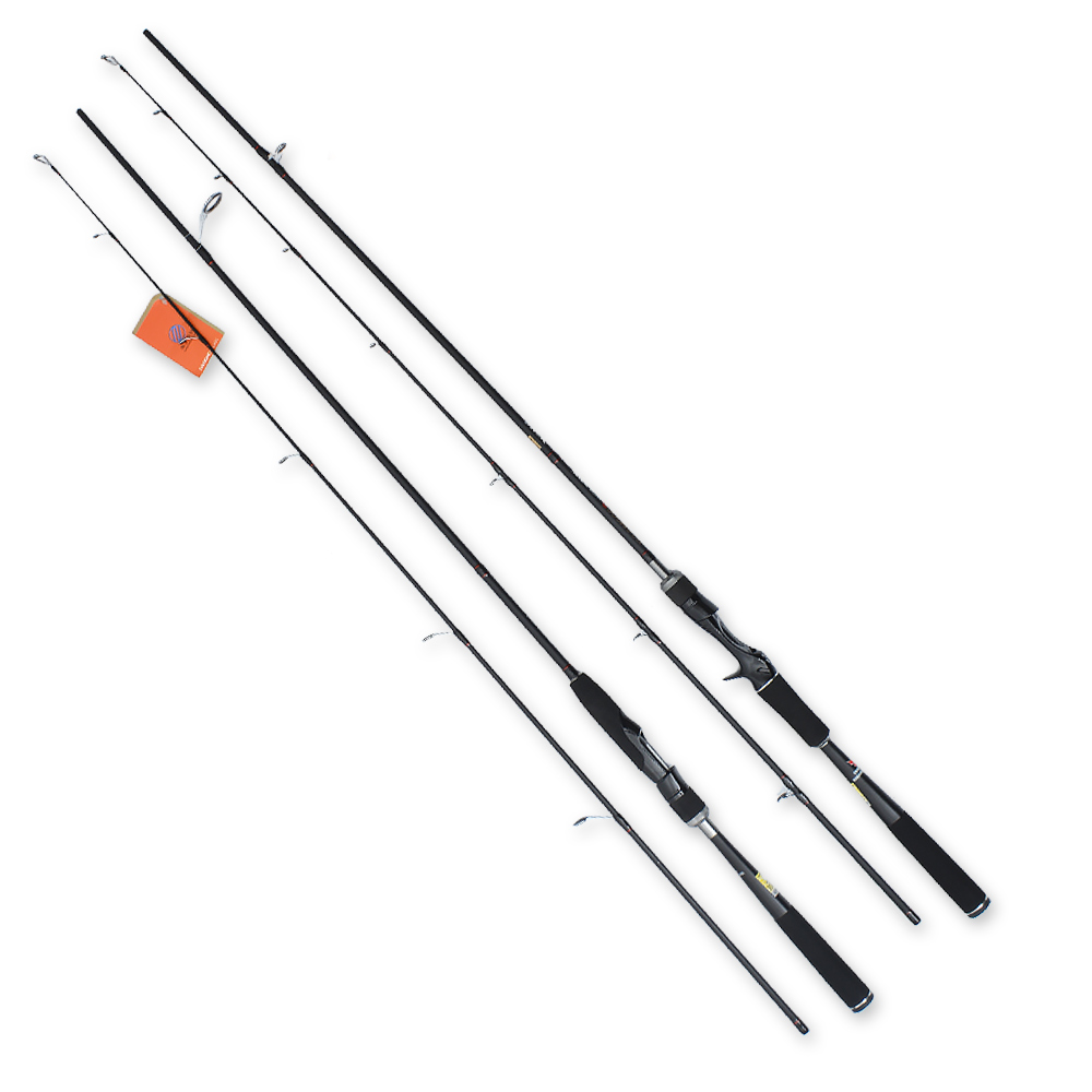 mikado nsc pole 800 без колец carbon Carbon Spinning Rod 2.1m Ultralight Fishing Rod pole Baitcasting Lure Rod 2 Sections Casting Rod