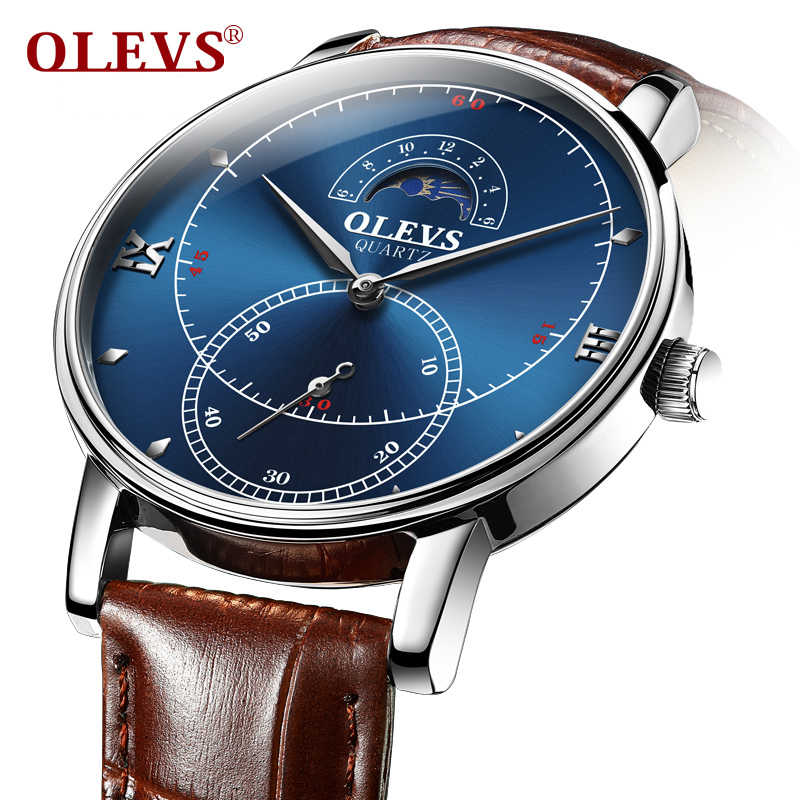 Watches Men Watch Luxury Brand OLEVS High Quality Japan Quartz Wristwatch mens Relogio masculino sport man watch men Clock 2018