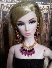 Hazy beauty Handmade Fashion Jewelry Earring Necklace Accessories For Barbie Fr 1 6 Dolls BBIEAR002