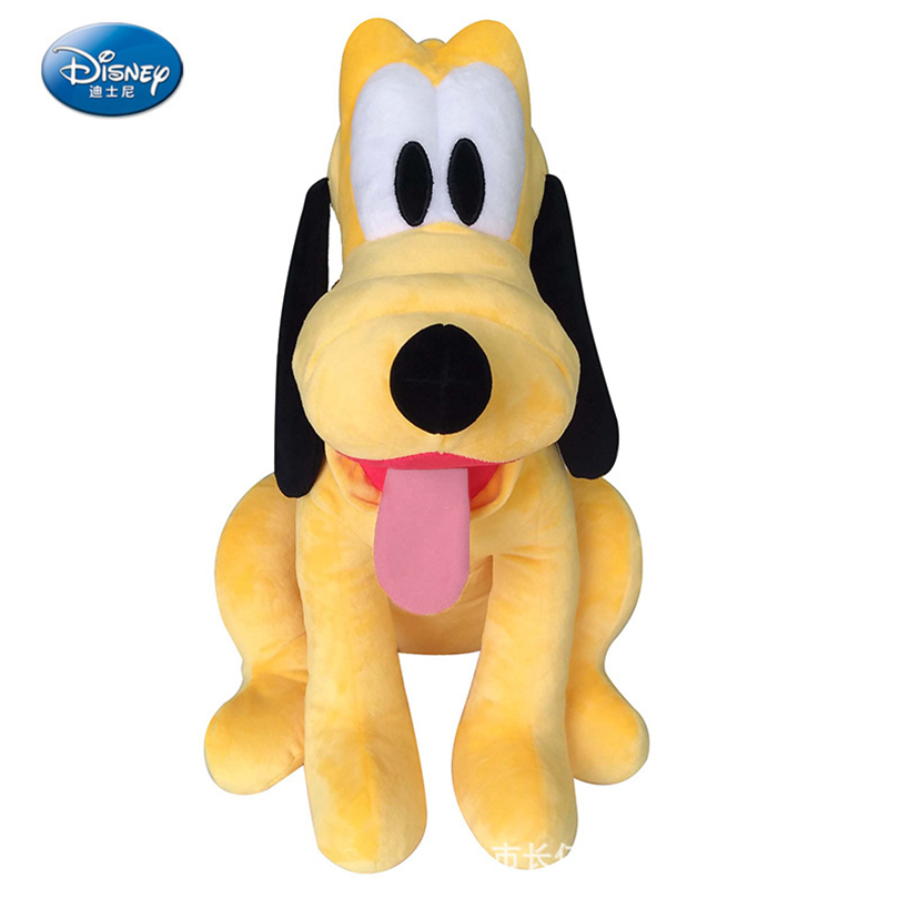 Disney doll 42cm cute Pluto large padded toy plush toy girl toy cartoon doll anime Christmas gift classic cartoon character