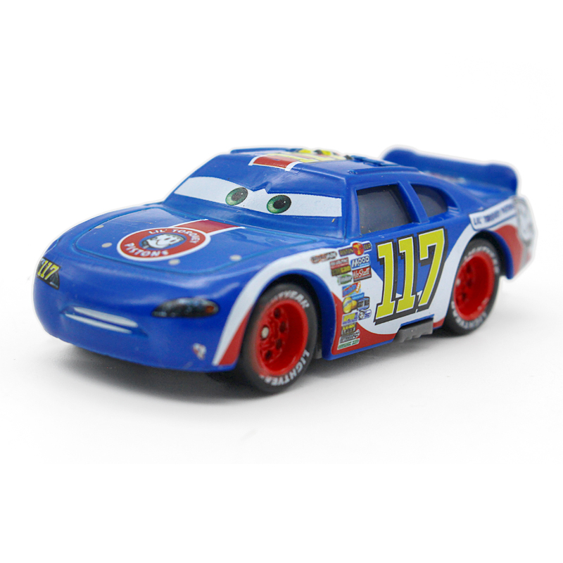 The Year In Cars 2015 S Greatest Automotive Achievements: Disney Pixar Cars 100% Original No.117 Racer 1:55 Scale