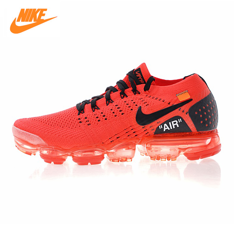 купить Nike Air Vapormax Flyknit 2.0 Men's Running Shoes,Outdoor Sneakers Shoes, Red, Shock Absorption Breathable Non-slip 942842 006 по цене 8310.75 рублей