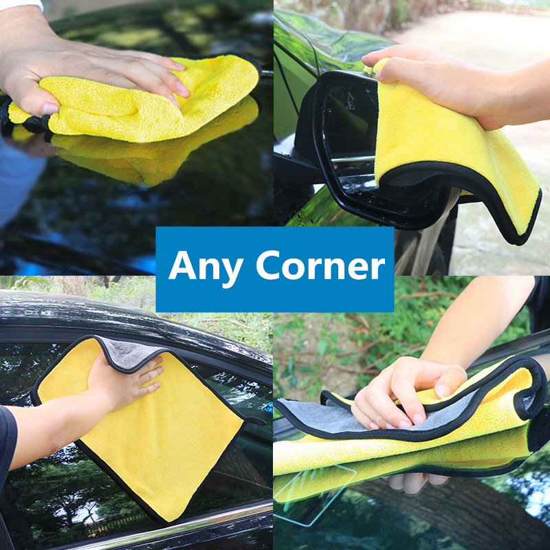 Image 5 - Microfiber Car Wash Towel Car Cleaning Cloth FOR  volkswagen bmw e46 e90 peugeot 206 307 mercedes audi a3 seat ibiza leon fiat 5-in Car Tax Disc Holders from Automobiles & Motorcycles