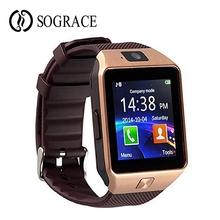 DZ09 Unisex Smart Watch For iPhone IOS Android Smart Phone B