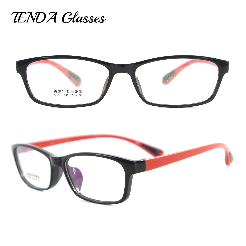 Léger et Flexible En Plastique Montures de lunettes Hommes et Femmes Mode Lunettes  Pour Verres de Prescription 1f3f26790356