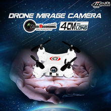 Free Shipping 2016 New 4CH 2.4G 6-axis Remote Control Helicopter RC Quadcopter with RC Nano Drone with Camera VS Cheerson CX-10c