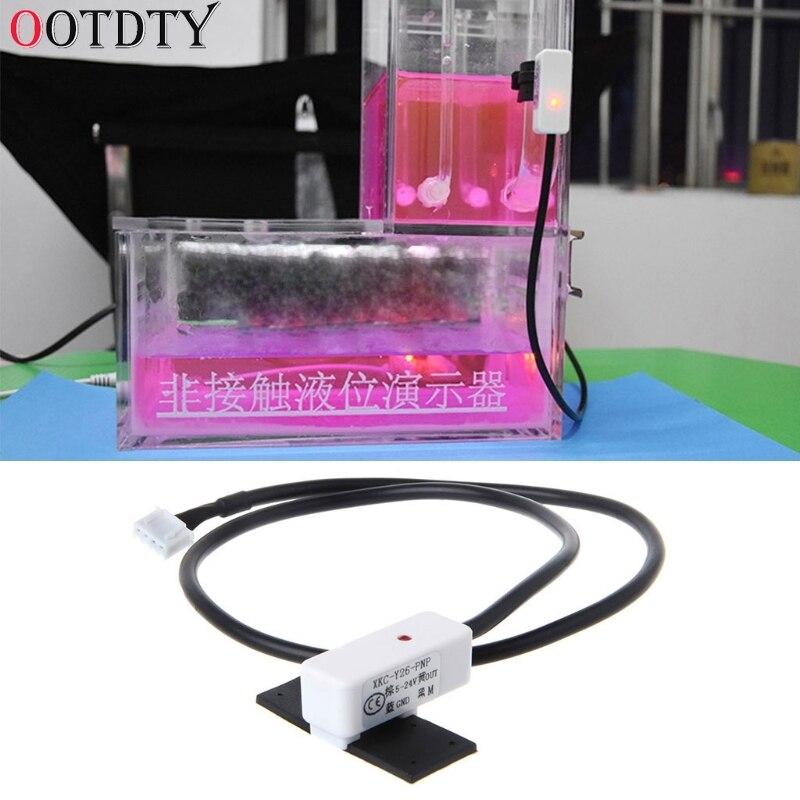 Detector de Sensor de Nível de Líquido Controlador de Nível de Água Ootdty Não-contato Tubo Interruptor Pnp