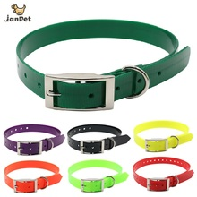 Pet Dog Collar TPU+Nylon Adjustable Collar For Small Large Dogs Collar Training Outdoor Comfortable Necklace For Pet Product