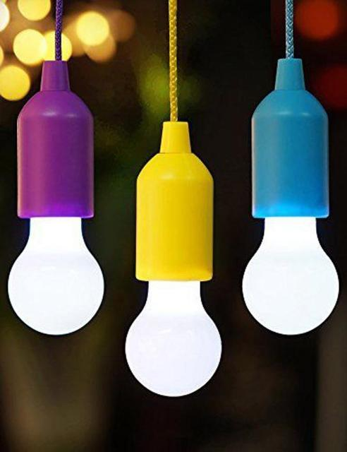High Quality Portable Led Pull Cord Light Bulb Outdoor