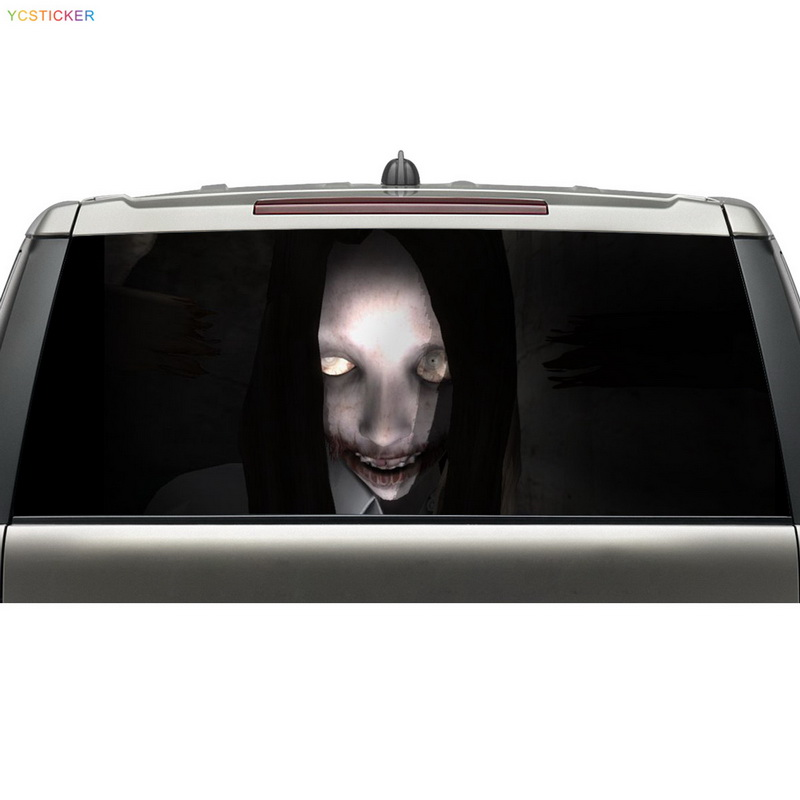 High Quality Decorative Truck Rear Window Graphic Decals