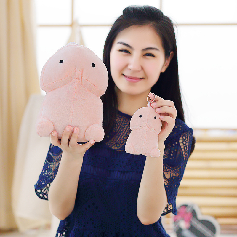 20cm Creative Plush Penis Toy Doll Funny Soft Stuffed Plush Simulation Penis Pillow Cute Sexy Kawaii Toy Gift For Girlfriend