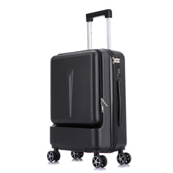 Nowy Spinner otwór z przodu Mala Hardside walizka na kole 20''24 ''Valise torby bagaż na kółkach torba|Walizka na kółkach|Bagaże i torby -