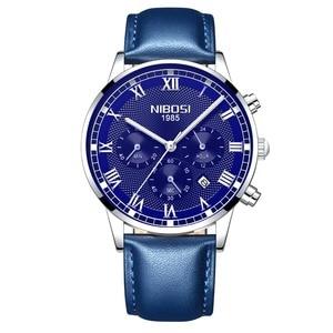 Image 5 - NIBOSI 2019 ใหม่นาฬิกาควอตซ์ผู้ชาย Chronograph กองทัพทหารกีฬานาฬิกาผู้ชายนาฬิกา Relogio Masculino Reloj Hombre
