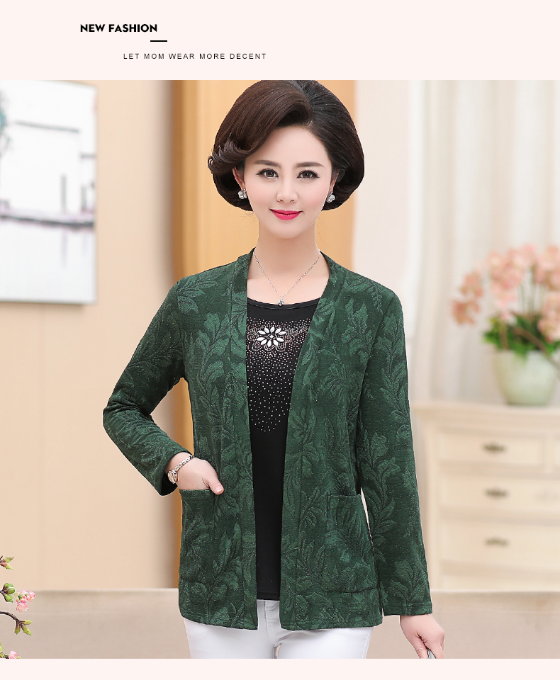 2019 Women Sequined Blouses Fake 2 Piece Top Rose Red Green Layered Shirt Faux Twinset Blouse Woman Casual Flower Shirt Top Female (15)