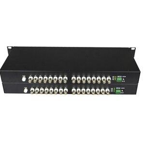 Image 2 - 16 Kanaals 720P/960P Hd Cvi/Ahd/Tvi Converter Glasvezel Naar Bnc Digitale Video converter Fiber Optische Zender En Ontvanger