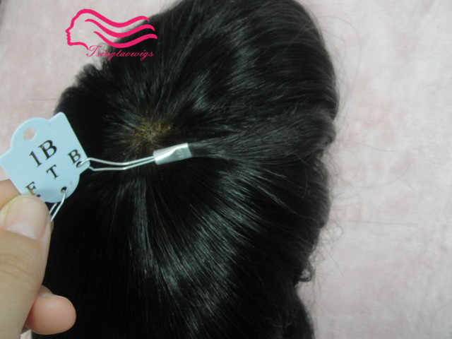 Peluca para hombre de pelo humano hecha a medida, reemplazo de cabello, sistema de cabello envío gratis