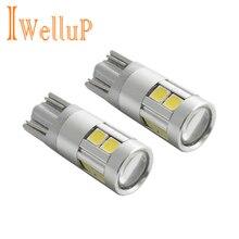 2x W5W LED 12 В T10 автомобиля лампы Автомобили габаритные лампы 168 194 501 Лампа Клин Парковка Авто для лада стайлинга автомобилей