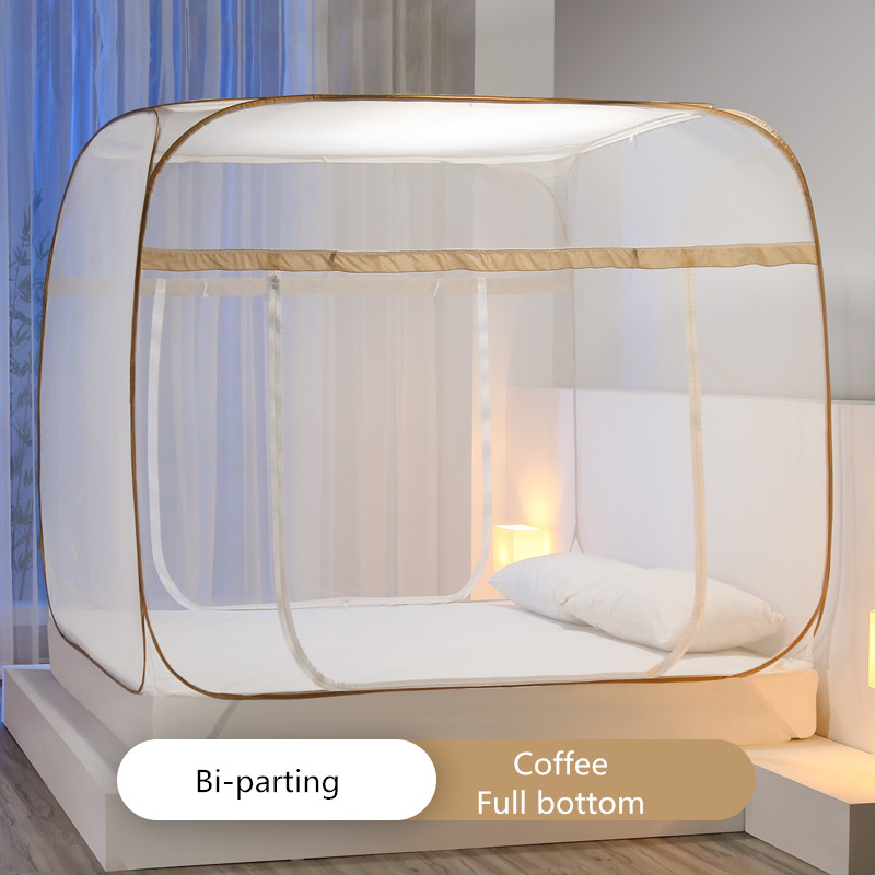 Universal Square Mosquito Net 6 Size Outdoor Bedding Tent Mesh Anti insect Folded Bed Canopy Room Decor Curtain New Bed Valance