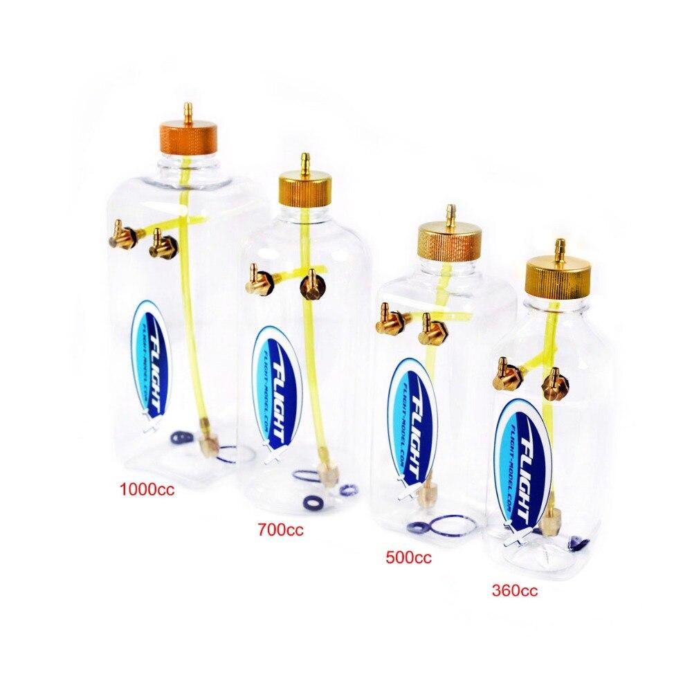 Novo Modelo de Vôo RC Tanque De Combustível de Plástico Transparente 260 ml 360 ml 500 ml 1000 ml Para RC Modelo de Avião