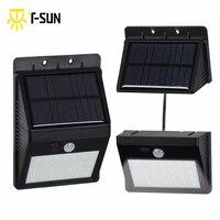 28 LEDs Outdoor Lighting Solar Light Motion Sensor With Separable Solar Panel Waterproof IP64 Street Light