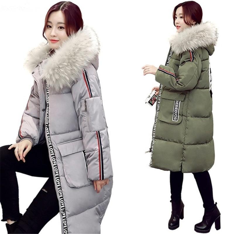 ФОТО 2016 New Female Winter Jackets Women Parkas Army Green Large Size Thickening Women Outwear Parka For Winter Coat Womens W064