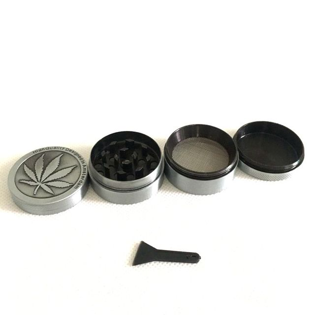 4 levels Mini Herb Grinder Weed Smoke Tobacco Hand Muller for ...