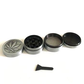 4 poziomy Mini młynek do ziół chwastów dym tytoń ręczny młynek do szisza fajka wodna rura średnica rury wody 30 40mm tanie i dobre opinie Metal 12 572 Proste typu
