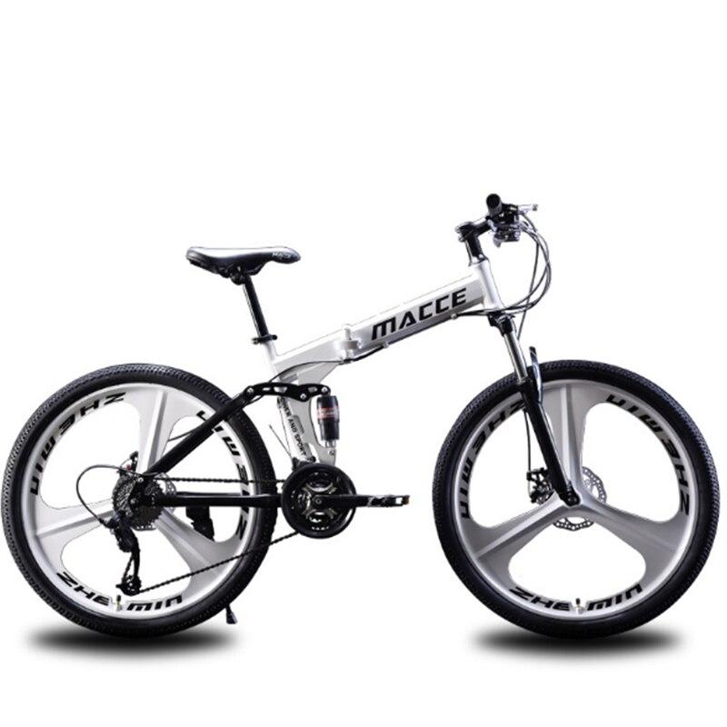 Vélo Non pliable VTT 26 pouces double frein à disque en alliage d'aluminium matériel adapté aux hommes