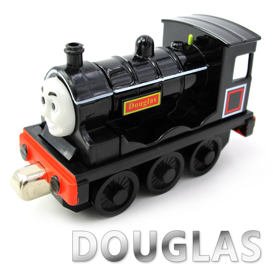 Diecasts Vehicles Thomas T043D DOUGLAS Thomas And Friends Magnetic Tomas Truck Car Locomotive Engine Railway Train Toys for Boys