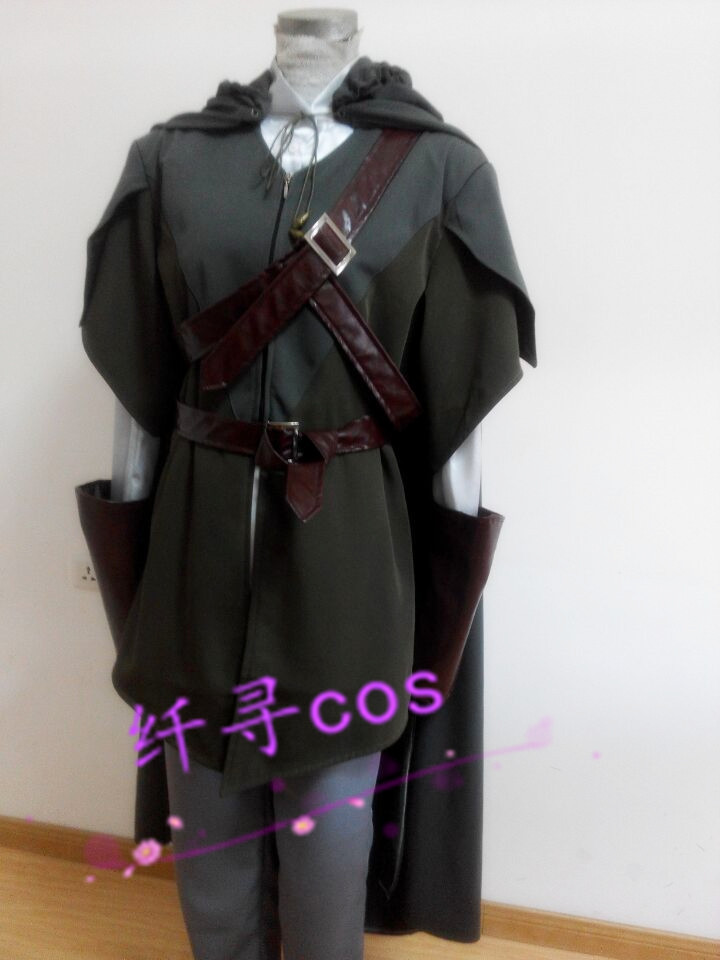 Free shipping The Lord Of The Rings Legolas Adult Costume the hobbit Cosplay Costumes anime halloween Christmas