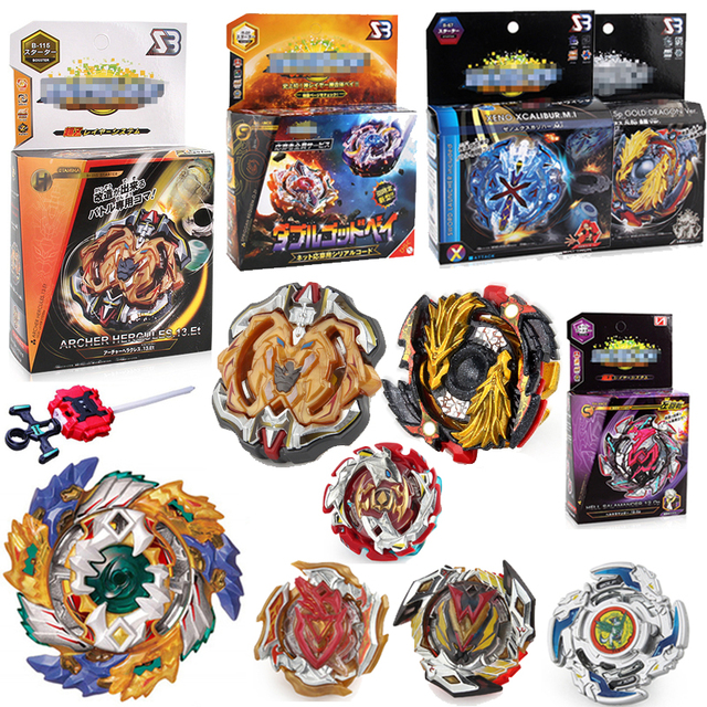 New Beyblade BURST God B115 B00 B113 With Launcher And Original Box Gift Toys  Spinning Top Bey Blade Blades Toy For Children F5 a880efa498