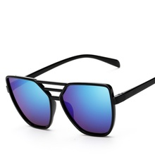 women vintage cat eye sun glasses For women Mirrors Fashion Sunglasses Women Brand Designer Colorful Sun Glasses For man Goggles