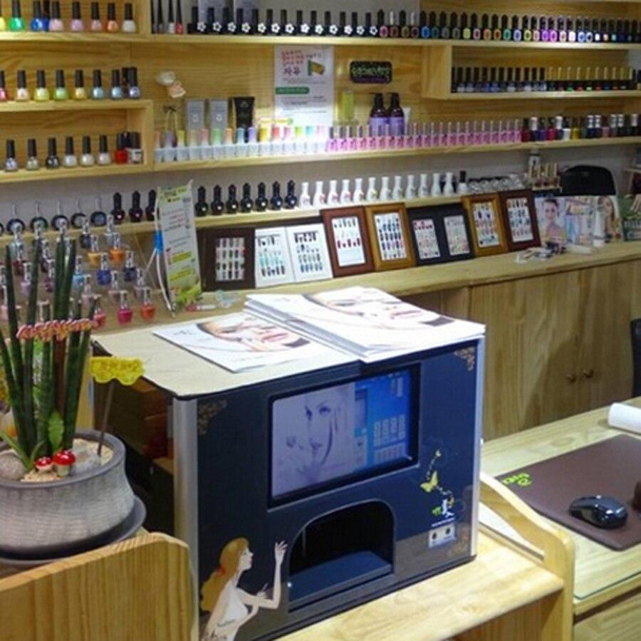 nail tool of nail art printer machine 5 nails printing at same time free shipping 2 years warranty nail printer best selling nail printing machine 2016 new updated