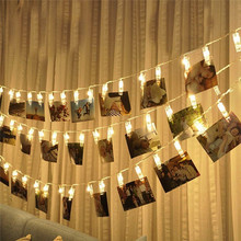 Street Garland Clip Light String Led Curtain Decor Holiday AccessoriesParty Fairy Christmas Outdoor Decoration