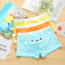 2019 Kids Underwear Boys Organic Cotton Panties For Toddler Baby Boy Cartoon Briefs Children Majtki Teenage Underpants 3 Pcs/Lot недорого