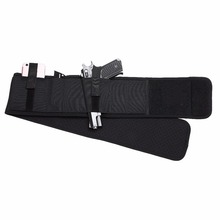 Tactical Hunting Waist Holster Ambidextrous Ventilated Neoprene Belly Band Holster for Concealed Carry Fits Any Waist Size
