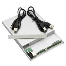 GTFS-USB 2.0 до IDE Внешний Корпус Enclosue Для Ноутбуков CD DVD Blu-Ray Привод RW ROM