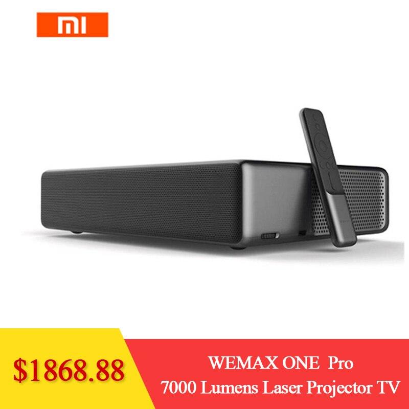Xiaomi WEMAX ONE PRO FMWS02C ALPD 7000 Lumens TV Home Theater Projetor Laser Prejector NOVO