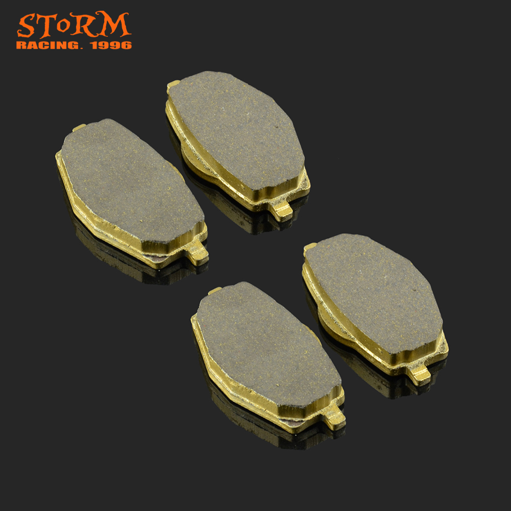 Motorcycle Front and Rear Caliper Brake Pads For APACHE RC OREGON RA MIRO Millennium Raodster BEE KD WK 50 100 125 150 600 RA600