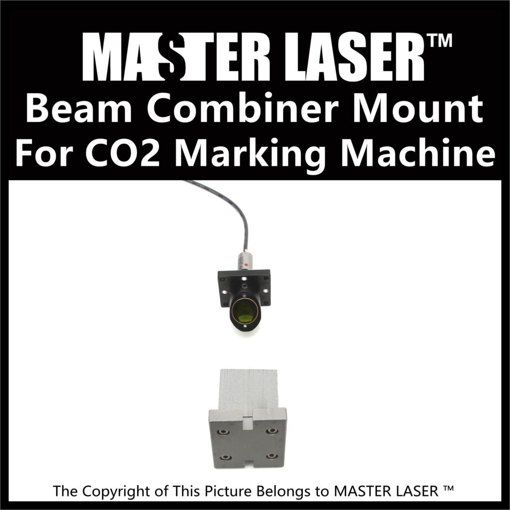Laser Mount to Upgrade Fiber CO2 Laser Marking Machine Visible Laser Beam Combiner Mount Laser Pointer Holder economic al case of 1064nm fiber laser machine parts for laser machine beam combiner mirror mount light path system