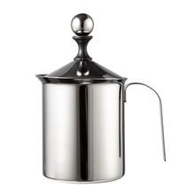 400/800 мл ручной вспениватель молока из нержавеющей стали с двойной сеткой молочных кувшин для молока в виде молочной пены, сетка для кофе, пенообразователь, сливочник, Кофеварка, сливочник